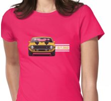 1970 Ford Mustang Shelby GT350 Womens Fitted T-Shirt