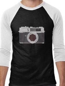 YASHICA illustration Men's Baseball ¾ T-Shirt