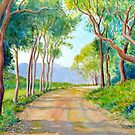 Country lane near Albany, WA by Gregory Pastoll