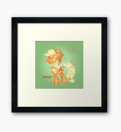 My Little Pony: Applejack Framed Print