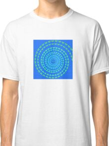 MOM HEARTED - Blue Classic T-Shirt
