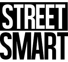 Street Smart - Black Photographic Print