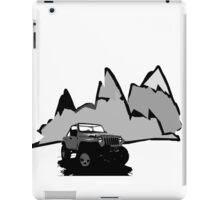Jeeping It!  iPad Case/Skin