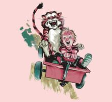 Calvin And Hobbes Fast One Piece - Long Sleeve