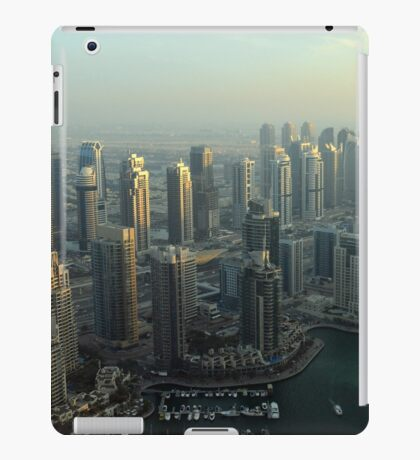 Photography of modern tall buildings from Dubai. iPad Case/Skin