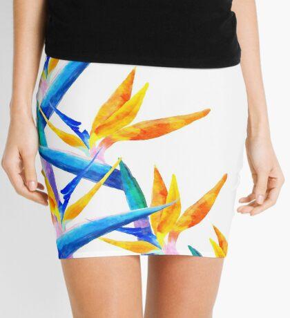 Bird of Paradise V2 #redbubble #lifetsyle Mini Skirt