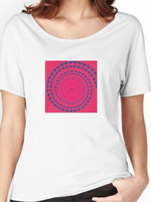 MOM HEARTED - Red Women's Relaxed Fit T-Shirt