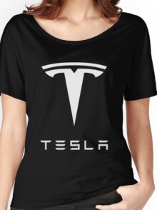 tesla retro vintage classic Women's Relaxed Fit T-Shirt