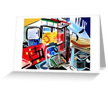 Abstract Interior #20 Greeting Card