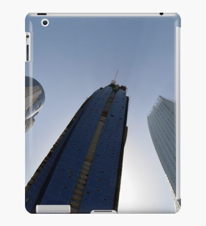 Photography of modern tall buildings from Dubai, United Arab Emirates. iPad Case/Skin