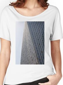 Photography of tall twisted building from Dubai, United Arab Emirates. Women's Relaxed Fit T-Shirt