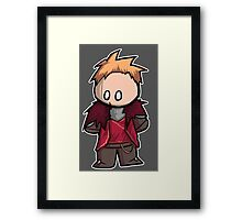 Cullen chibi Framed Print