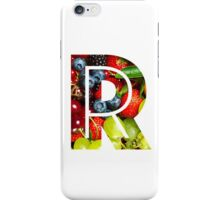 The Letter R - Fruit iPhone Case/Skin