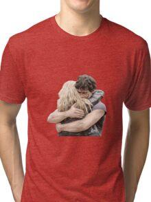 bellamy and clarke hug Tri-blend T-Shirt