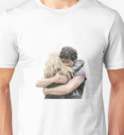 bellamy and clarke hug Unisex T-Shirt