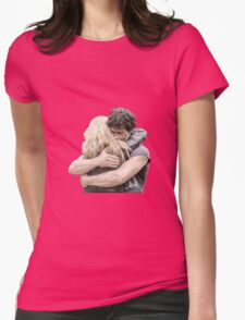 bellamy and clarke hug Womens Fitted T-Shirt