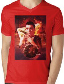 MAXIMUM Power Mens V-Neck T-Shirt