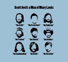 Scott Avett: a Man of Many Looks Unisex T-Shirt