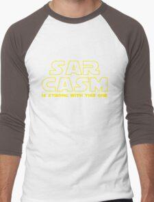Sarcasm T Shirt Men's Baseball ¾ T-Shirt