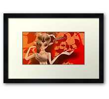 Autumn sprite  Framed Print