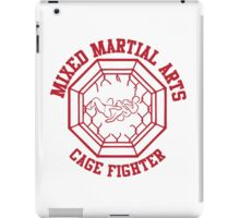 Mixed Martial Arts Cage Fighter Armbar iPad Case/Skin