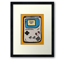 Real Life Console Framed Print