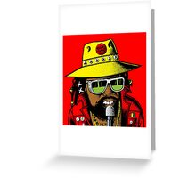 BEENIE MAN Greeting Card