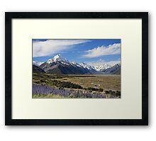 Mount Cook - Limited Edition 2/10 Framed Print
