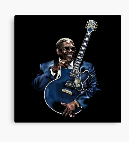 KING OF THE KING Canvas Print