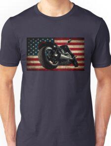 Modern Harley Davidson Fatboy USA T-Shirt