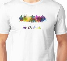 Ho Chi Minh skyline in watercolor Unisex T-Shirt