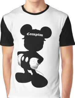 Compton Mickey Graphic T-Shirt