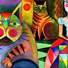 My cats and I by Karin Zeller