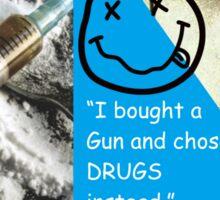 No Drugs Sticker