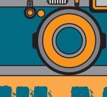 I Shoot Film - Vintage Camera Design Sticker