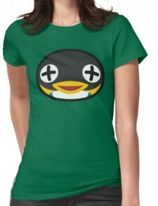 CUBE ANIMAL CROSSING Womens Fitted T-Shirt