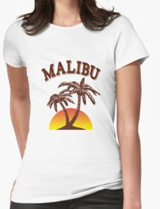 Malibu rum  Womens Fitted T-Shirt