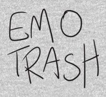 EMO TRASH Kids Tee