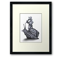 In which no explanation can be found Framed Print