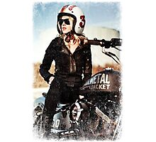 TOUGH GIRL Photographic Print