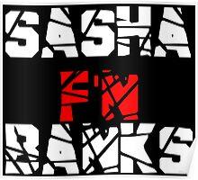 Sasha F'N Banks Poster