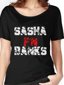 Sasha F'N Banks Women's Relaxed Fit T-Shirt