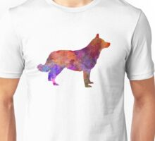 Lapponian Herder in watercolor Unisex T-Shirt