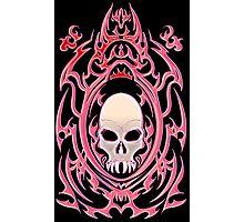 Gothic Skull Photographic Print