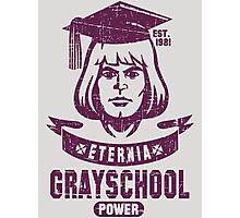GraySchool Power! Photographic Print