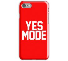 YES Mode iPhone Case/Skin