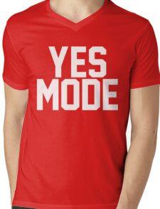 YES Mode Mens V-Neck T-Shirt