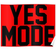 YES Mode Poster