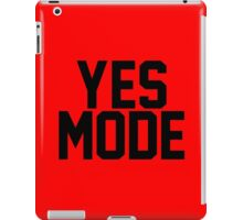 YES Mode iPad Case/Skin