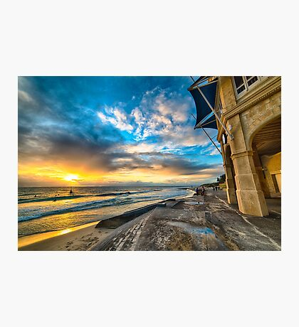 Sunset at Cottesloe Photographic Print